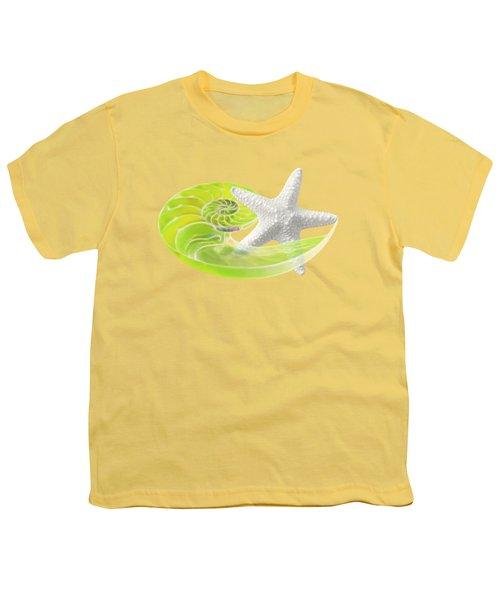 Ocean Fresh Youth T-Shirt by Gill Billington