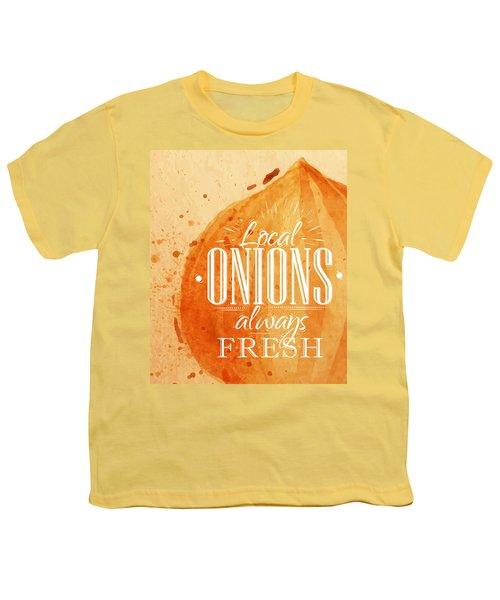 Onion Youth T-Shirt by Aloke Creative Store