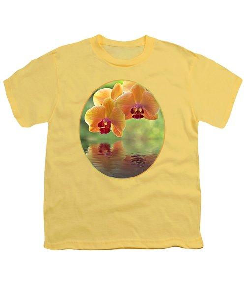 Oriental Spa - Square Youth T-Shirt by Gill Billington