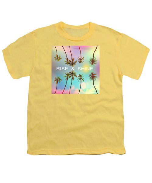 Palm Trees Youth T-Shirt by Mark Ashkenazi