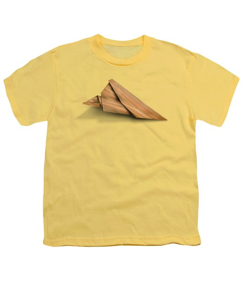 Paper Airplanes Of Wood 2 Youth T-Shirt by Yo Pedro