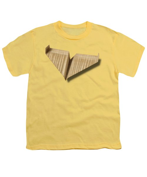 Paper Airplanes Of Wood 8 Youth T-Shirt by YoPedro