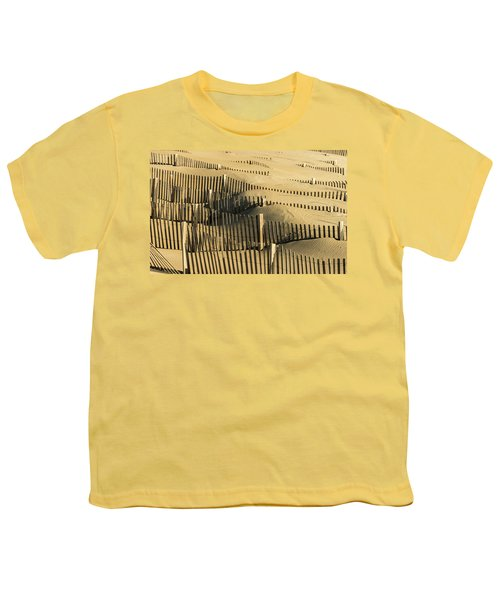 Sand Dunes Of The Outer Banks Youth T-Shirt