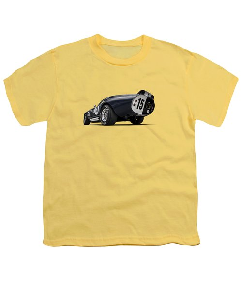 Shelby Daytona Youth T-Shirt by Douglas Pittman