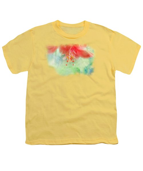Softly Colored 1 Youth T-Shirt by Judy Hall-Folde