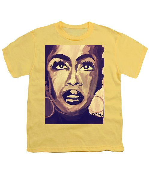 Soul Sister  Youth T-Shirt by Miriam Moran