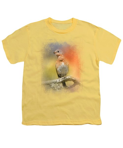Spring Song Youth T-Shirt by Jai Johnson