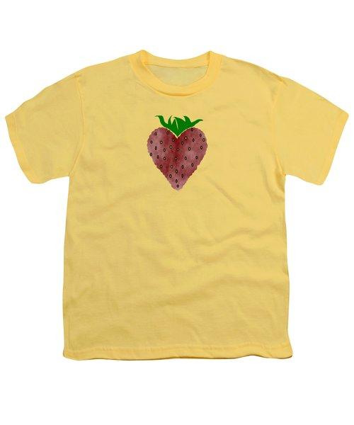Strawberries Youth T-Shirt by Kathleen Sartoris