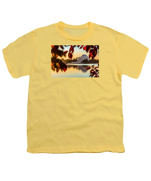 Jefferson In Autumn Youth T-Shirt