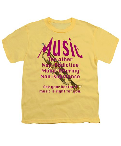 Trumpet Music Is Right For You 5496.02 Youth T-Shirt