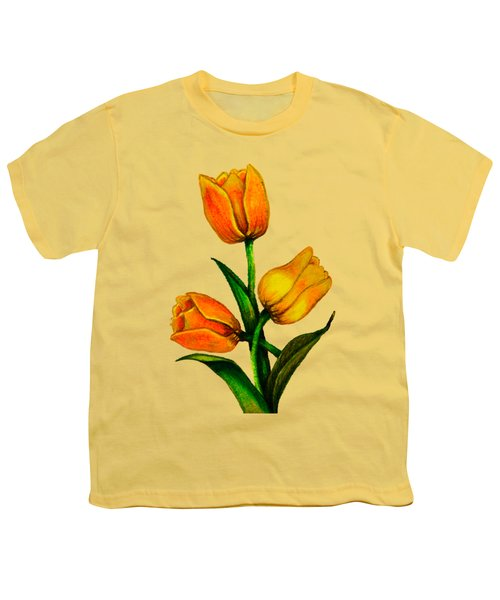 Tulips Youth T-Shirt