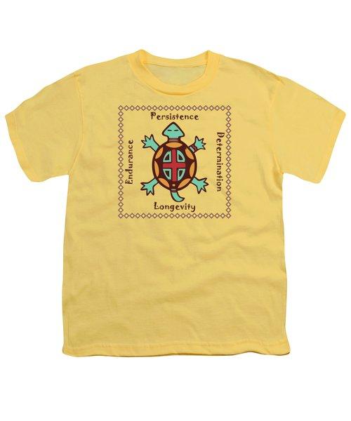 Turtle Animal Spirit Youth T-Shirt