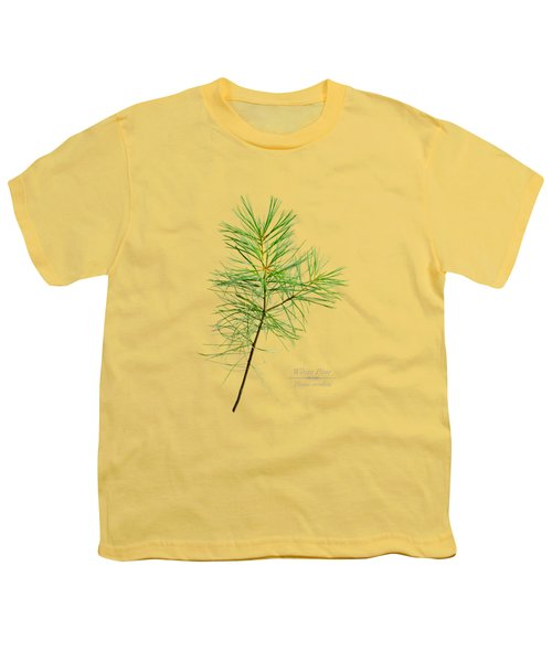 White Pine Youth T-Shirt by Christina Rollo