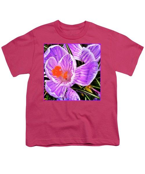 Awakening #flowers #spring #bulbs Youth T-Shirt