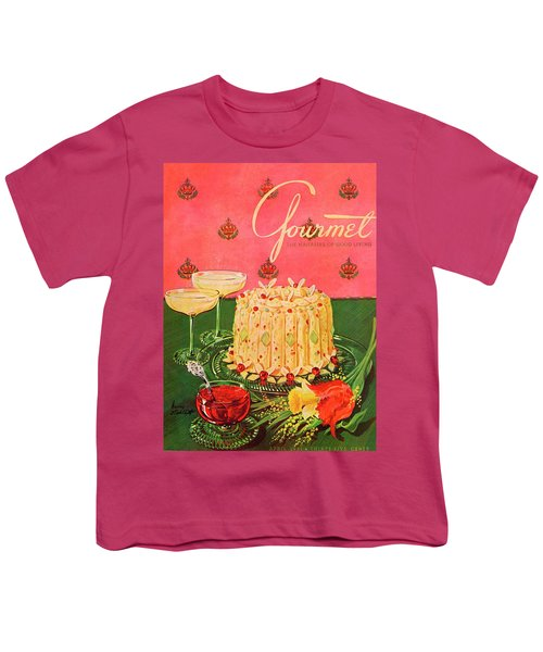 Gourmet Cover Illustration Of A Molded Rice Youth T-Shirt
