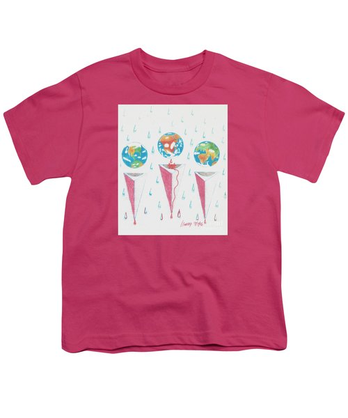 Africa Bleeds Cupable Countries Youth T-Shirt by Rod Ismay