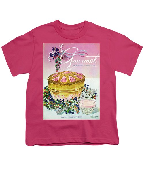 A Gourmet Cover Of A Souffle Youth T-Shirt