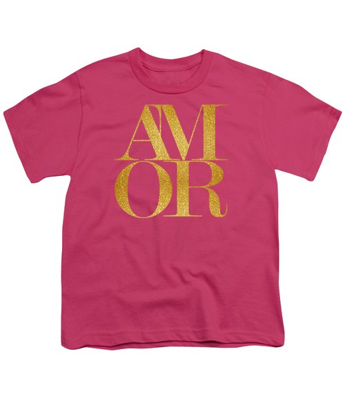 Amor Youth T-Shirt by Liesl Marelli