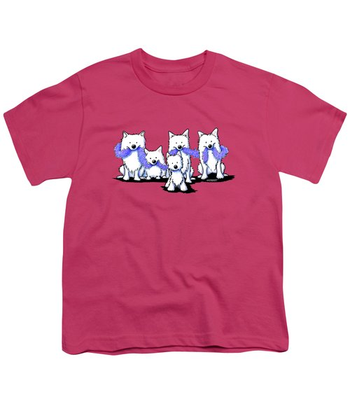 Sams And Westie Youth T-Shirt
