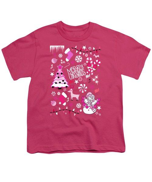 Christmas Youth T-Shirt by Mark Ashkenazi
