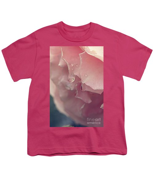 Crying In The Rain Youth T-Shirt by Linda Lees