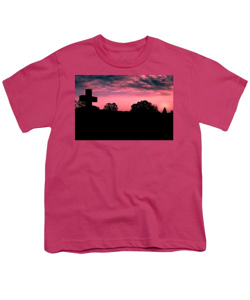 Early On The Hill Youth T-Shirt