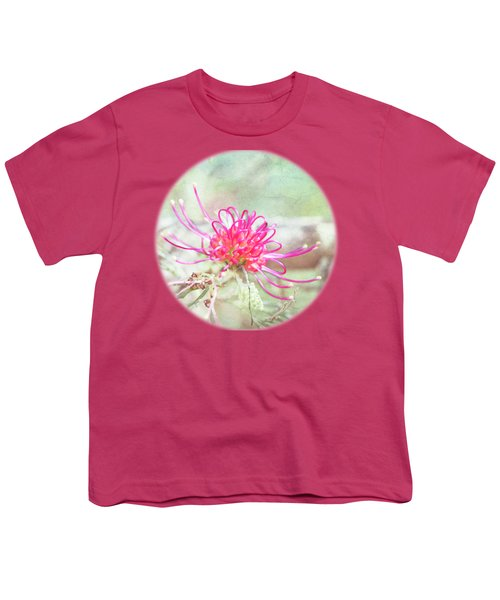 Grevillea Youth T-Shirt by Linda Lees