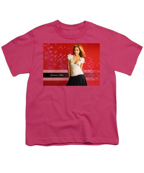 Jessica Alba Latest 2010 Youth T-Shirt