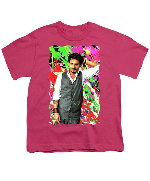 Johnny Depp - Celebrity Art Youth T-Shirt