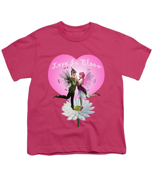 Love In Bloom Youth T-Shirt