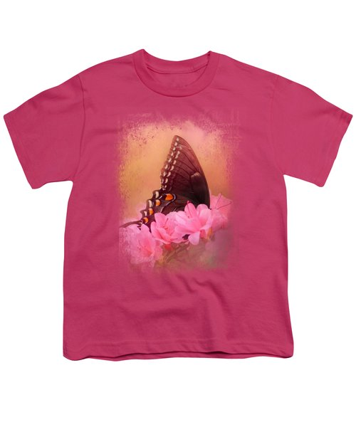 Napping In The Azaleas Youth T-Shirt by Jai Johnson