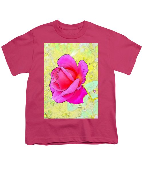 Pink Rose Youth T-Shirt