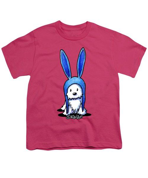 Rabbit Ears Westie Youth T-Shirt