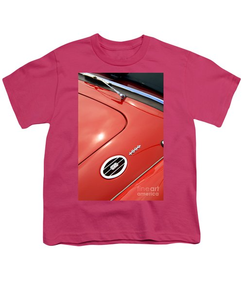 Youth T-Shirt featuring the photograph Red Bonnett by Stephen Mitchell