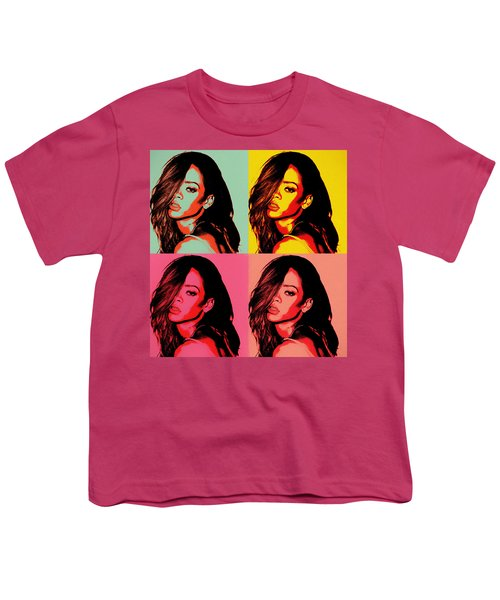 Rihanna Pop Art Youth T-Shirt