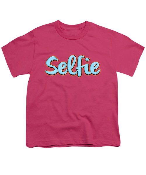Selfie Tee Youth T-Shirt