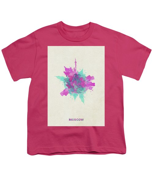 Skyround Art Of Moscow, Russia Youth T-Shirt