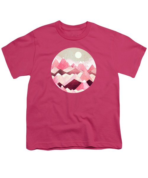 Blush Berry Peaks Youth T-Shirt