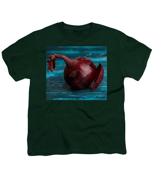 Red Onions Youth T-Shirt by Nailia Schwarz