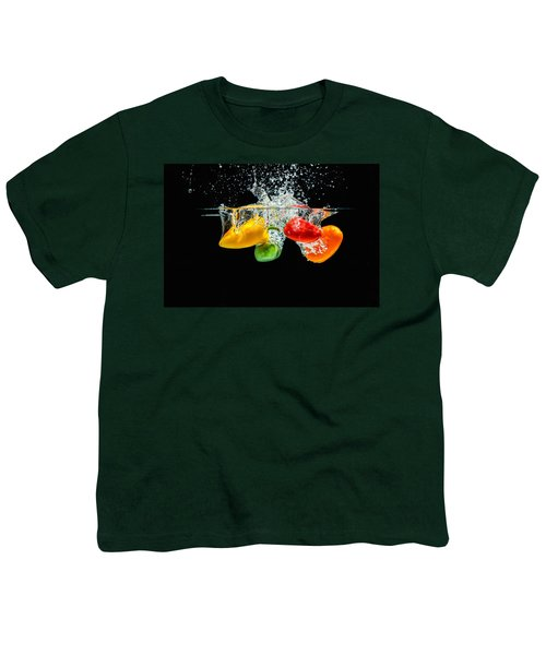 Splashing Paprika Youth T-Shirt