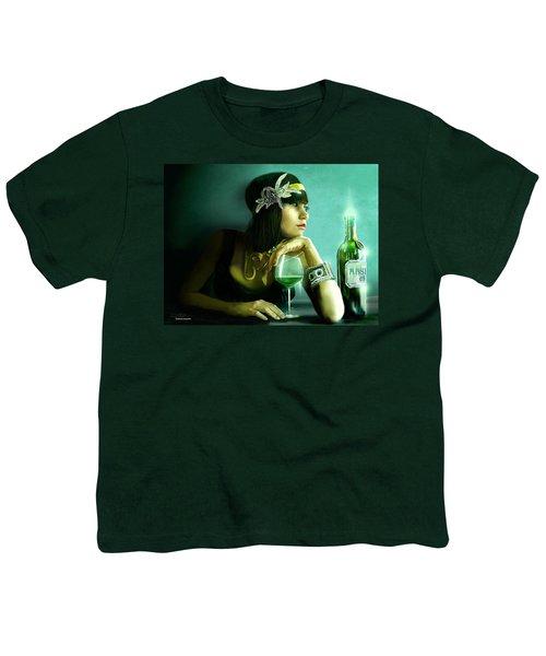 Absinthe Youth T-Shirt by Jason Longstreet