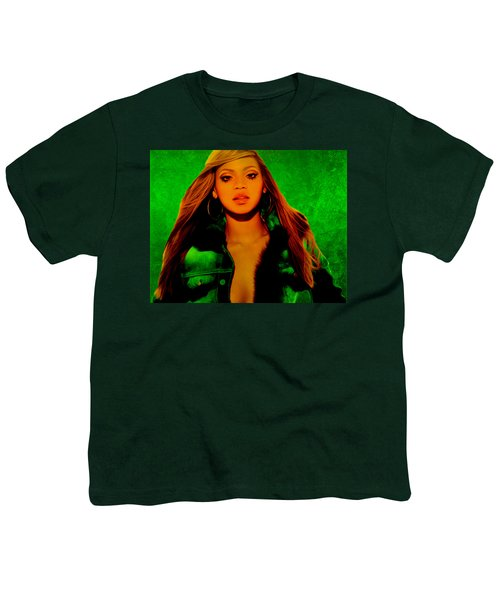 Beyonce II Youth T-Shirt by Brian Reaves