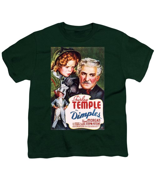 Dimples Youth T-Shirt by Movie Poster Prints