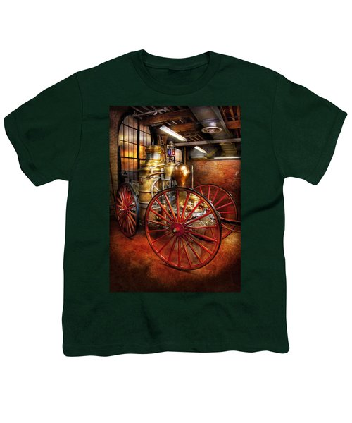Fireman - One Day A Long Time Ago  Youth T-Shirt
