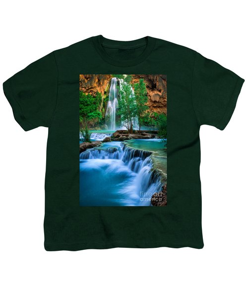 Havasu Paradise Youth T-Shirt by Inge Johnsson