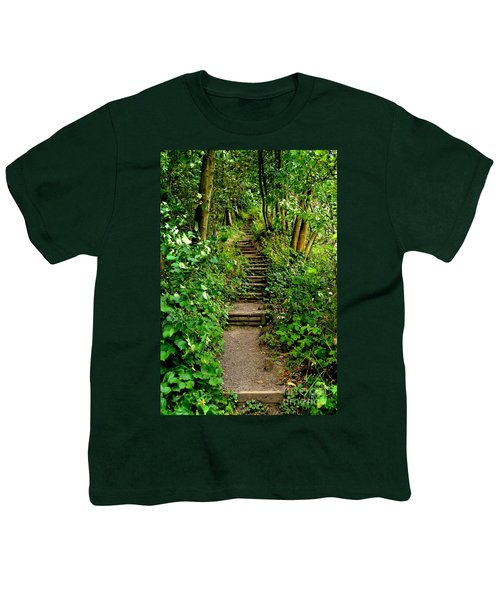 Path Into The Forest Youth T-Shirt