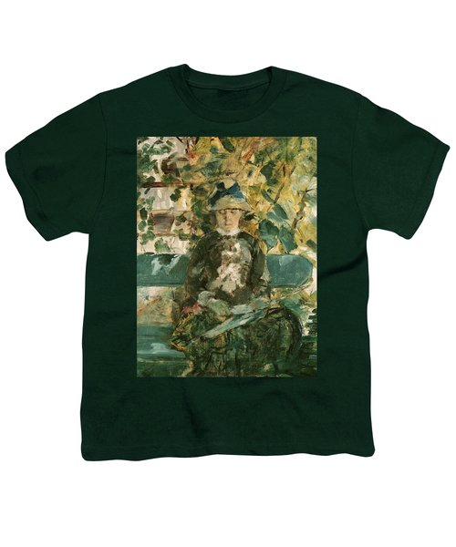 Portrait Of Adele Tapie De Celeyran Youth T-Shirt by Henri de Toulouse-Lautrec