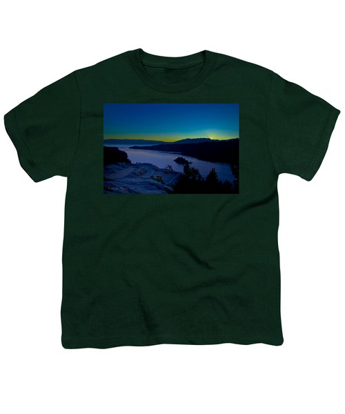 Youth T-Shirt featuring the photograph Tahoe Sunrise by Jim Thompson