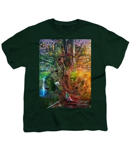 The Dreaming Tree Youth T-Shirt by Aimee Stewart