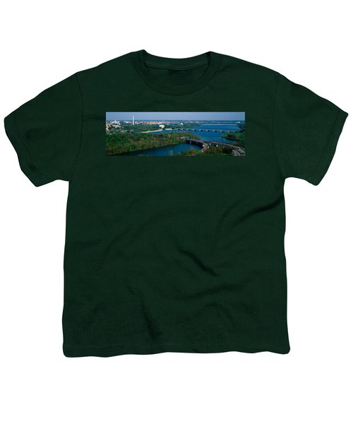 This Is An Aerial View Of Washington Youth T-Shirt by Panoramic Images
